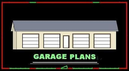 24x24 Garage Framing Plans